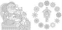 Christmas Coloring Pages With ...