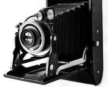 Black Bellows Vintage Film 1900s Camera