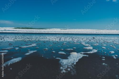 Keuken foto achterwand Noordzee Blue Water Pearls