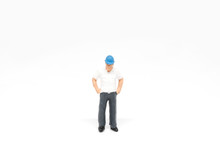 Miniature People Worker Safety...