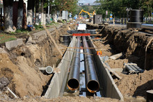 Replacement Pipes In The City....