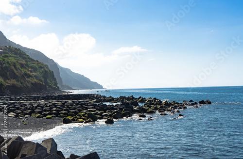 In de dag Kust Küste von Madeira