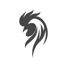 Rooster Head Icon