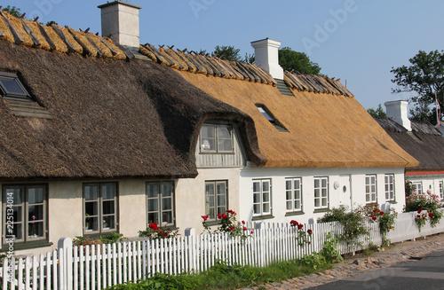 Foto op Aluminium Oude gebouw Architecture of ancient European village