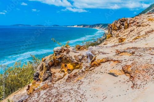 Foto op Canvas Cyprus Rainbow Beach