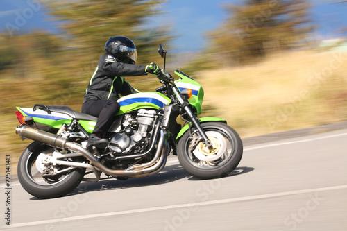 Foto op Plexiglas Motorsport オートバイ 流し撮り