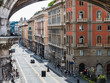 Beautiful houses, streets and attractions of the fabulous city of Genoa, Italy. Travel and vacation concept