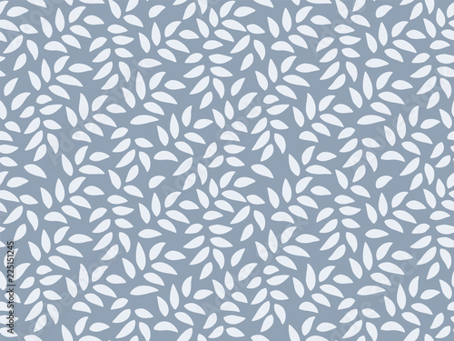 obraz PCV Leaves Pattern. Endless Background. Seamless