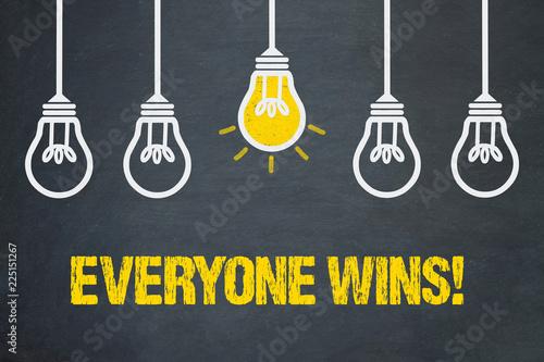 Fotografie, Obraz  Everyone wins!