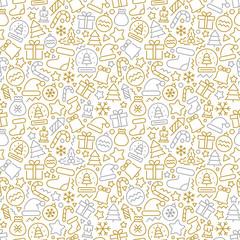 Christmas vector seamless pattern. Vector eps 8 format