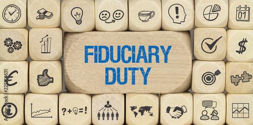 Fiduciary Duty Fototapet