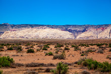 Landscape Of The San Rafael Swell At The North In Of Capitol Reef National Park Is A Fascinating Desert Landscape