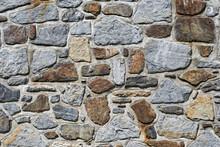 Mur En Pierres Apparentes