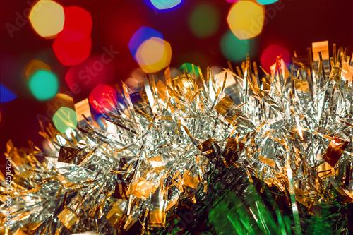 Obraz Colorful christmas background - fototapety do salonu