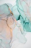 Atrament, farba, abstrakcja. Zbliżenie obrazu. Kolorowy abstrakcyjny obraz tła. Farba olejna o silnej teksturze. Wysokiej jakości detale. Tusz alkoholowy nowoczesne malarstwo abstrakcyjne, nowoczesna sztuka współczesna.