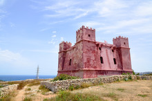 St Agatha's Red Tower In Mellieha, Malta