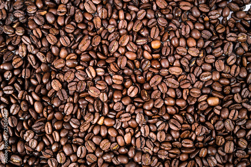 Fotografie, Obraz  coffee beans isolated on a white background
