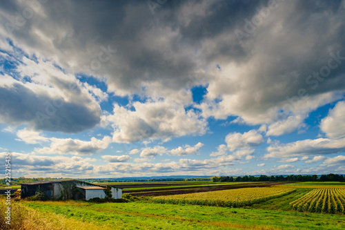 Cloudscape Barn Farm Horizon