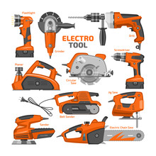 Power Tools Vector Electric Co...