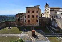 Genazzano - Roma - Italia. Scorcio Dal Castello