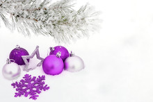 An Image With Christmas Decoration.