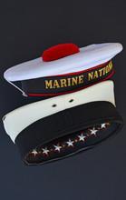 Old Cap Models Of The Italian Navy.