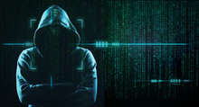 Dark Web Hooded Hacker