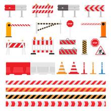 Road Barrier Vector Street Tra...