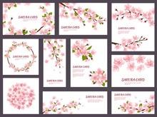 Sakura Vector Blossom Cherry G...