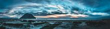 Morro Bay Sunset On The Beach