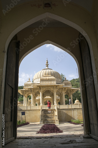 Photo  Dome of Maharaja's, Jaipur, India