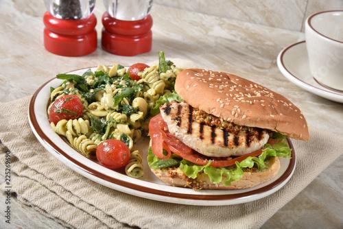 Heart Healthy Salmon Burger