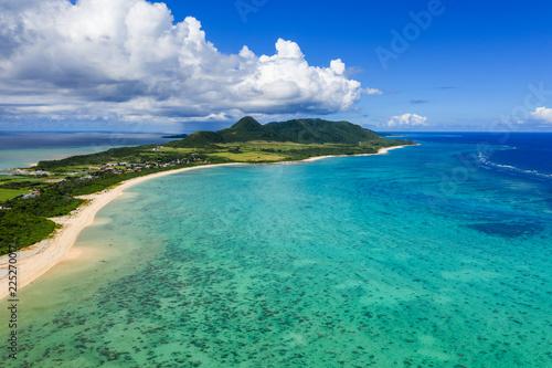 Fly over Kabira Bay in ishigaki island