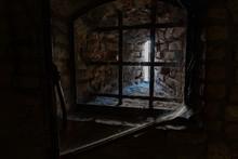 Medieval Prison Iron Bars Grate