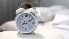Alarm Clock Showing Morning Ti...