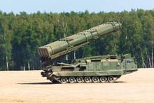 Powerful Carrier Rocket Vehicl...