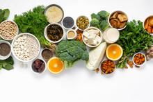 Calcium Vegetarians Top View H...