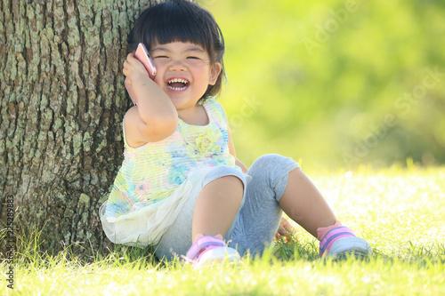 Fotografía  通話する女の子