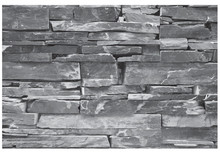 Geometric Stone Wall Vector Br...
