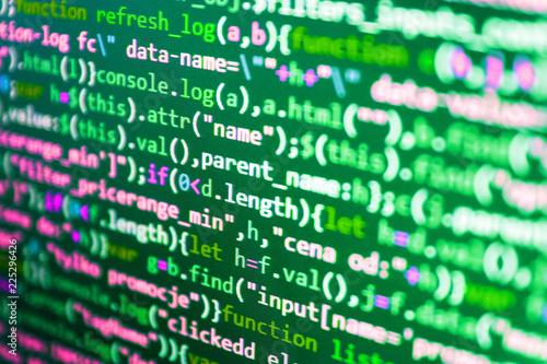 Coding Script Text On Screen Python Programming Developer Code