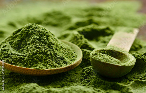 Green detox powder