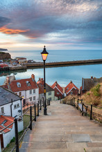 Night Falls Over Whitby