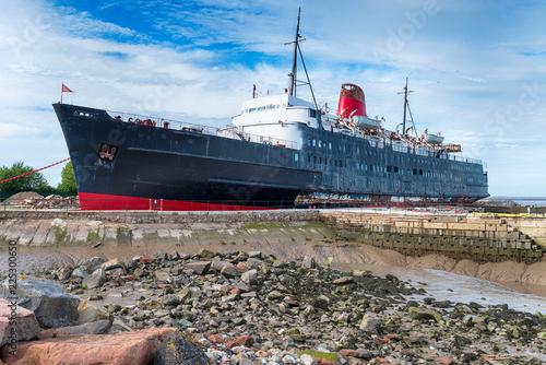 Poster Naufrage Abandoned Passenger Cruise Ship