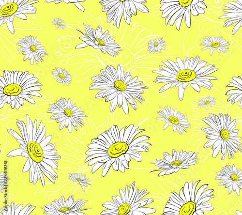 seamless flower arrangement