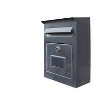 Black Mail BOX Isolated On White Background