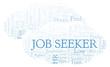 Job Seeker word cloud.