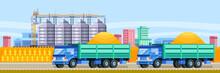Agricultural Silo Trucks Deliv...