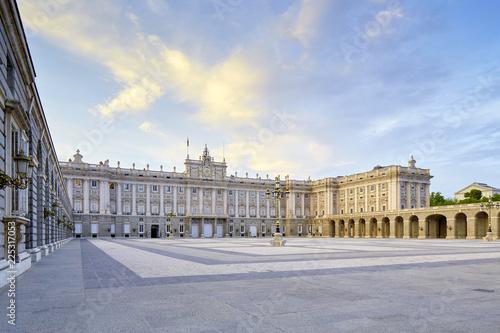 Fotobehang Madrid Palacio Real Madrid