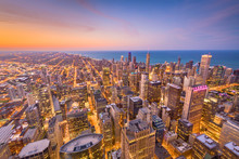Chicago, Illinois USA Skyline