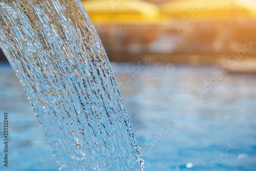 Fotografía  Stream of water in the pool